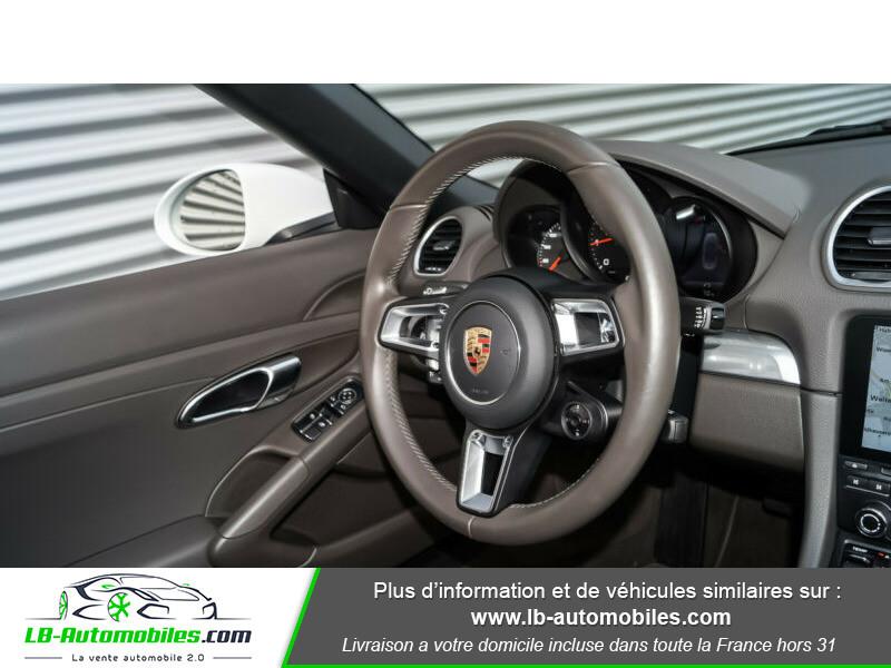 Porsche Boxster 718 2.0i 300 ch / PDK Blanc occasion à Beaupuy - photo n°9