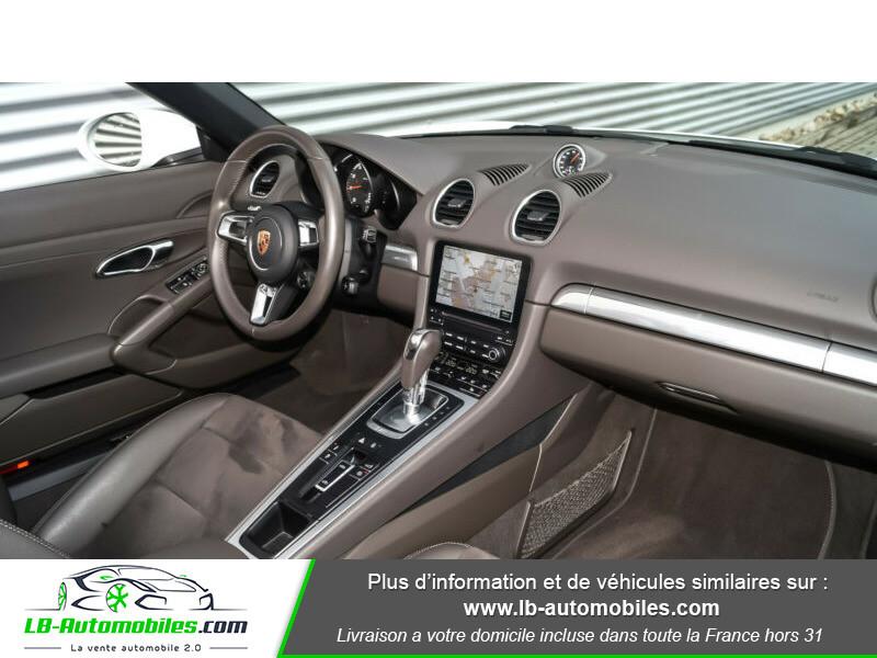 Porsche Boxster 718 2.0i 300 ch / PDK Blanc occasion à Beaupuy - photo n°2
