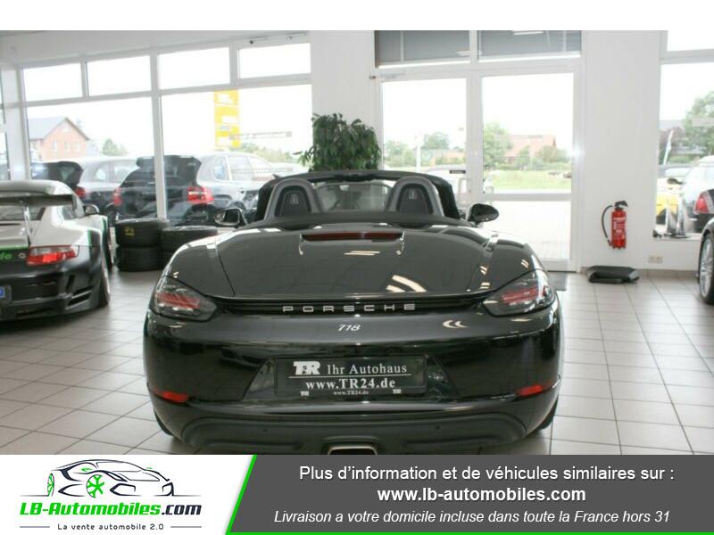 Porsche Boxster 718 2.0i 300 ch / PDK Noir occasion à Beaupuy - photo n°11
