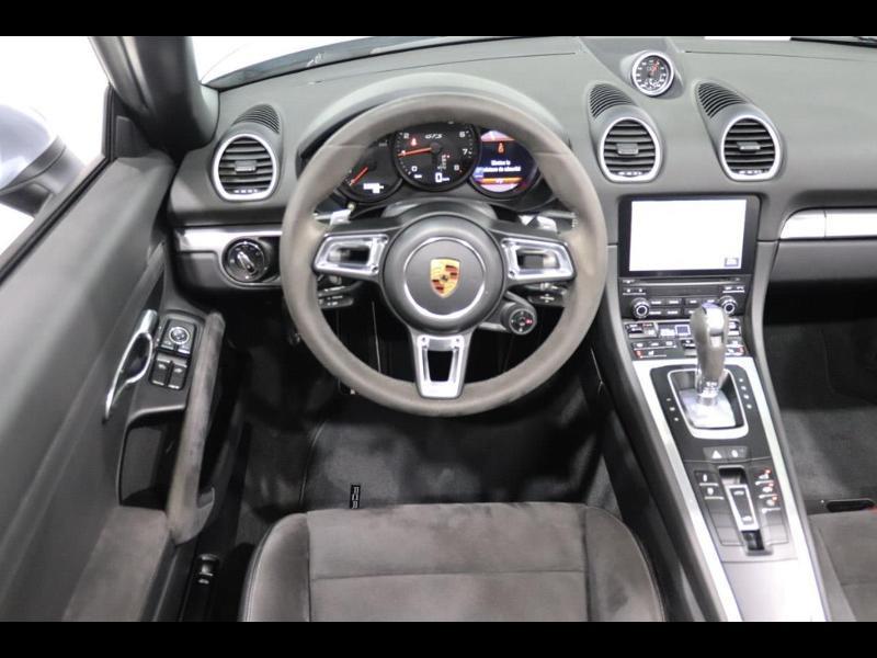 Porsche Boxster 718 2.5 365ch GTS PDK Argent occasion à Castres - photo n°3