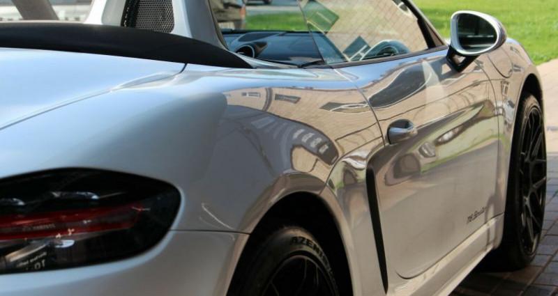 Porsche Boxster 718 Boxster 2.0 300ch Blanc occasion à Boulogne-Billancourt - photo n°6