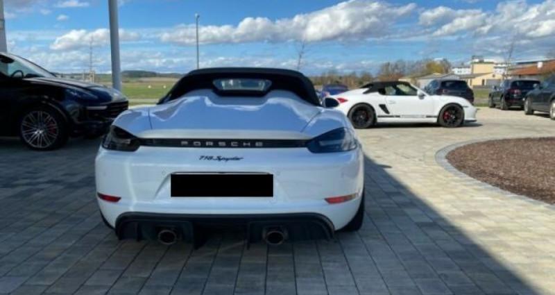 Porsche Boxster 718 Boxter Blanc occasion à Montévrain - photo n°2