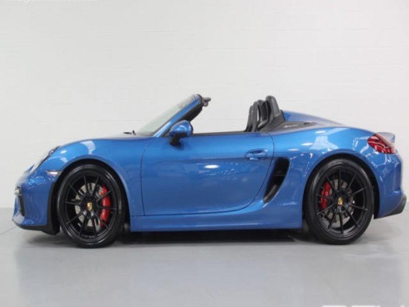 Porsche Boxster Spyder 3.8 375 cv Bleu occasion à BEAUPUY - photo n°6