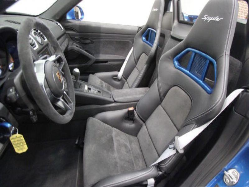Porsche Boxster Spyder 3.8 375 cv Bleu occasion à BEAUPUY - photo n°3