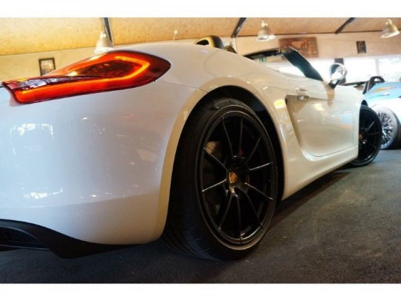 Porsche Boxster Spyder 3.8 375 cv Blanc occasion à BEAUPUY - photo n°7