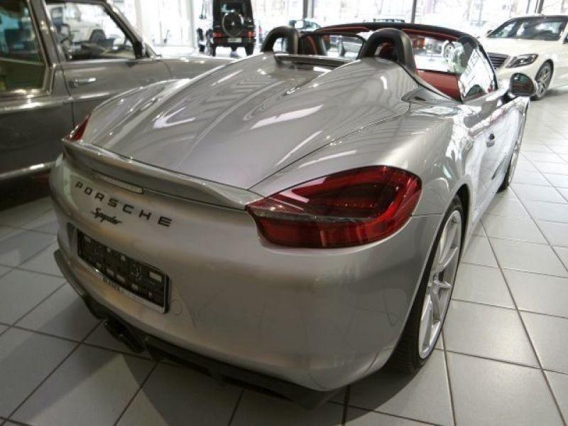 Porsche Boxster Spyder 3.8 375 cv Gris occasion à BEAUPUY - photo n°2