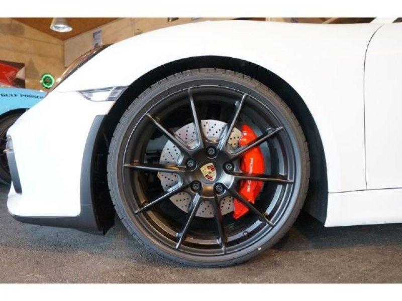 Porsche Boxster Spyder 3.8 375 cv Blanc occasion à BEAUPUY - photo n°8