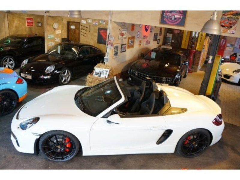 Porsche Boxster Spyder 3.8 375 cv Blanc occasion à BEAUPUY - photo n°5