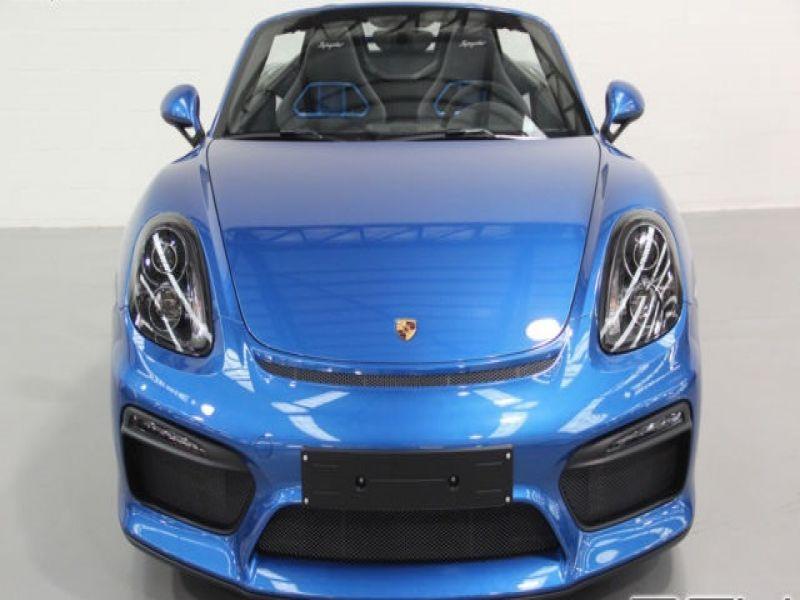 Porsche Boxster Spyder 3.8 375 cv Bleu occasion à BEAUPUY - photo n°9