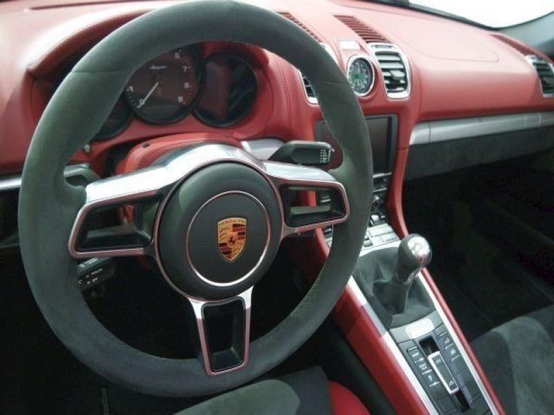 Porsche Boxster Spyder 3.8 375 cv Gris occasion à BEAUPUY - photo n°3