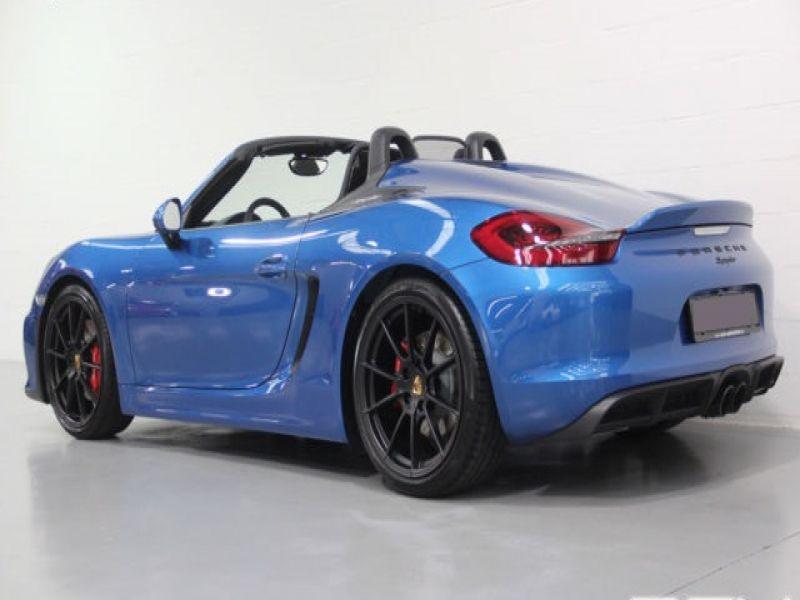 Porsche Boxster Spyder 3.8 375 cv Bleu occasion à BEAUPUY - photo n°2