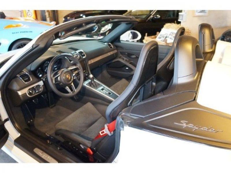 Porsche Boxster Spyder 3.8 375 cv Blanc occasion à BEAUPUY - photo n°4