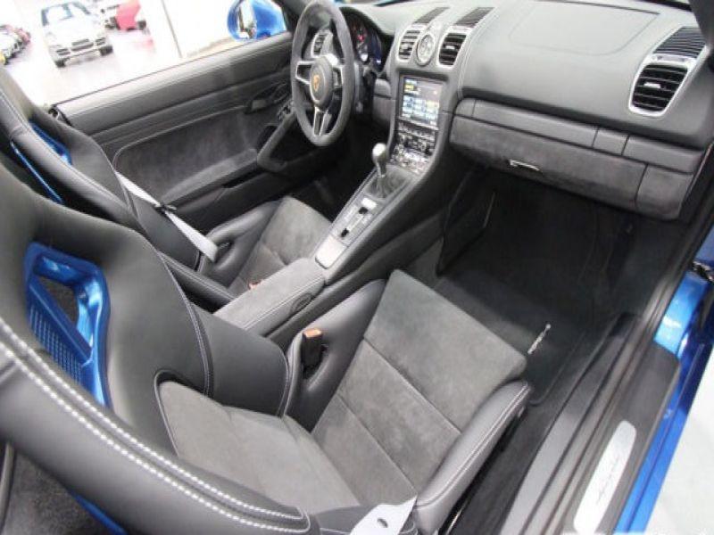 Porsche Boxster Spyder 3.8 375 cv Bleu occasion à BEAUPUY - photo n°5