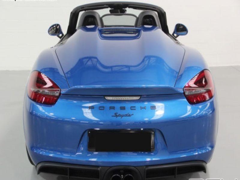 Porsche Boxster Spyder 3.8 375 cv Bleu occasion à BEAUPUY - photo n°8