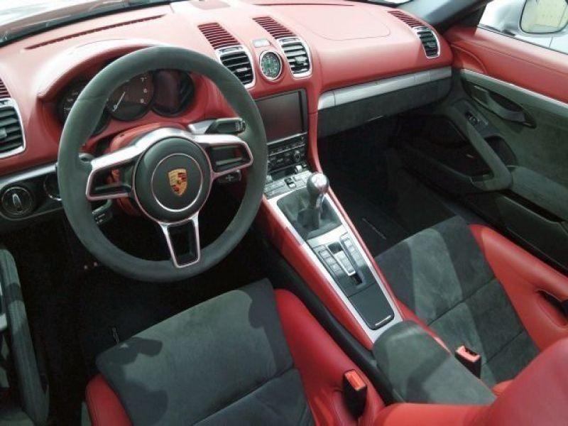 Porsche Boxster Spyder 3.8 375 cv Gris occasion à BEAUPUY - photo n°4