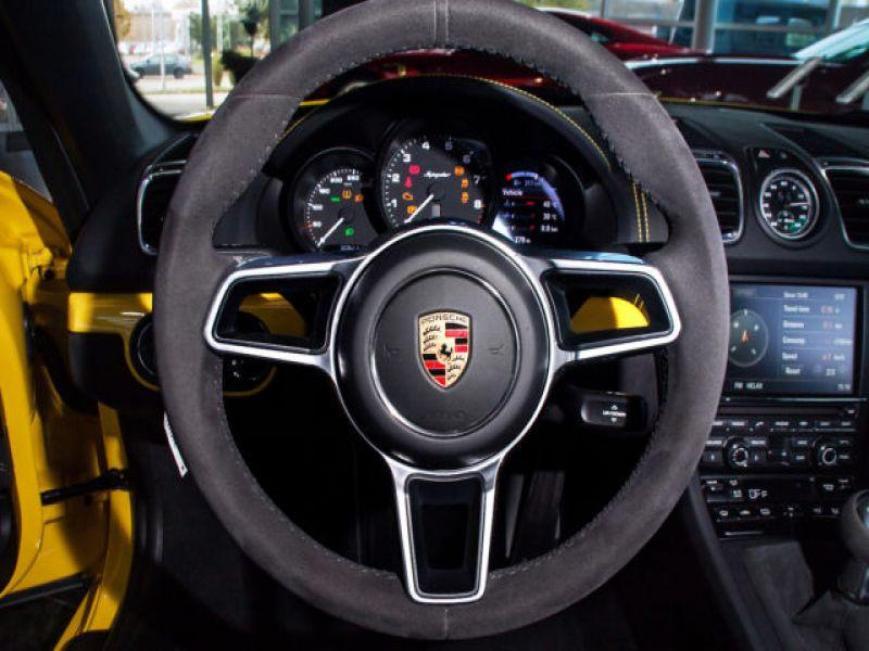 Porsche Boxster Spyder 3.8 375 cv Jaune occasion à BEAUPUY