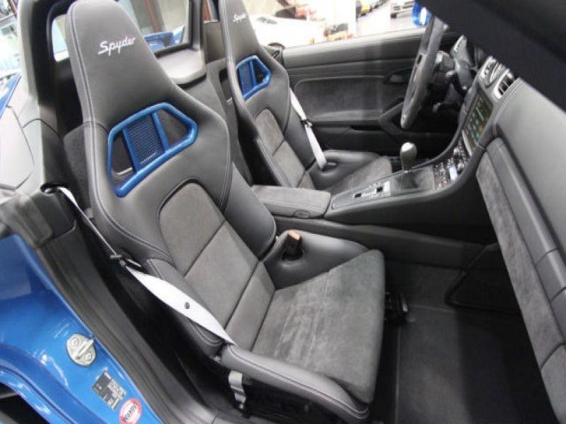 Porsche Boxster Spyder 3.8 375 cv Bleu occasion à BEAUPUY - photo n°4