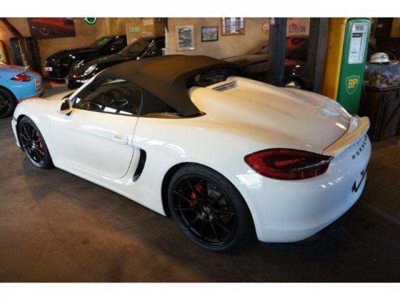 Porsche Boxster Spyder 3.8 375 cv Blanc occasion à BEAUPUY - photo n°2