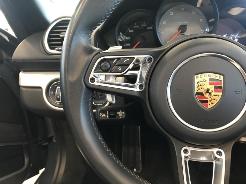Porsche Boxster 2.5i - 350 - BV PDK 718  TYPE 982 CABRIOLET S Bleu occasion à Ganges - photo n°14