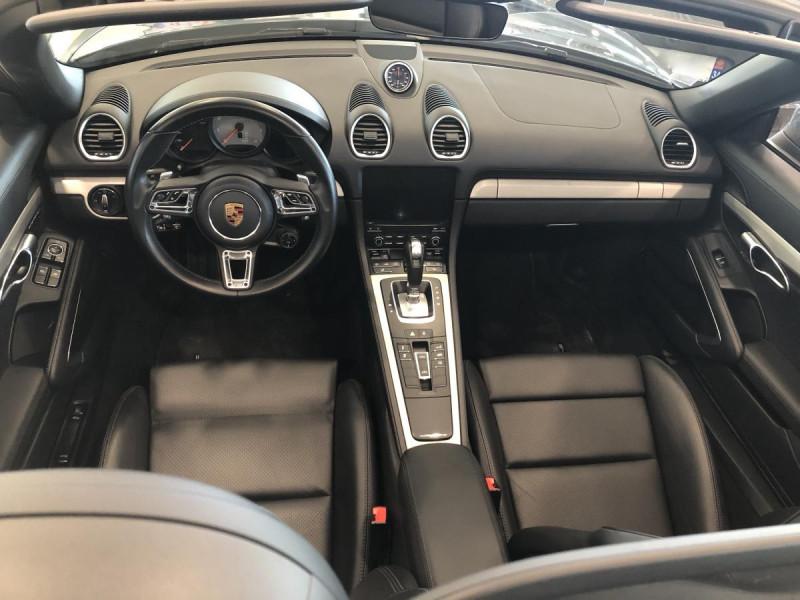 Porsche Boxster 2.5i - 350 - BV PDK 718  TYPE 982 CABRIOLET S Bleu occasion à Ganges - photo n°5