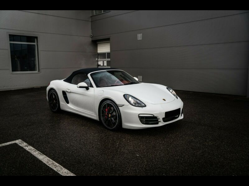 Porsche Boxster 3.4 S PDK Blanc occasion à BEAUPUY - photo n°1