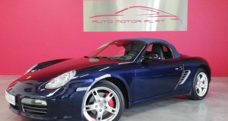 Porsche Boxster 987 S Bleu occasion à SAINT ANDRE DE CORCY - photo n°2