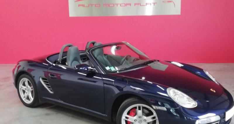 Porsche Boxster 987 S Bleu occasion à SAINT ANDRE DE CORCY - photo n°4