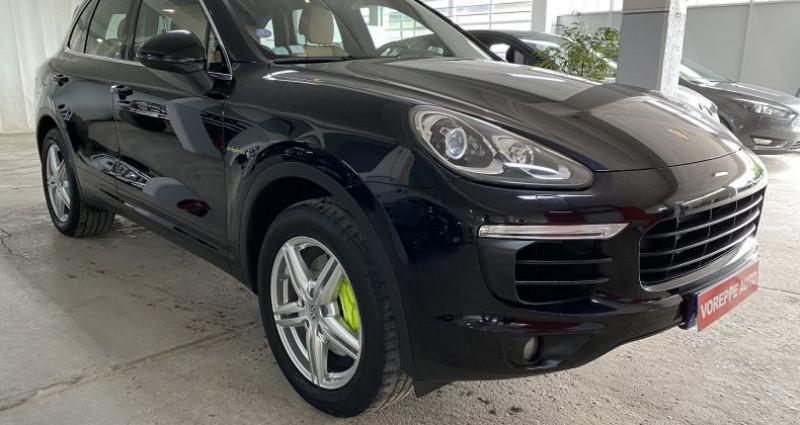 Porsche Cayenne (958) 3.0 416CH S E-HYBRID Noir occasion à VOREPPE - photo n°3