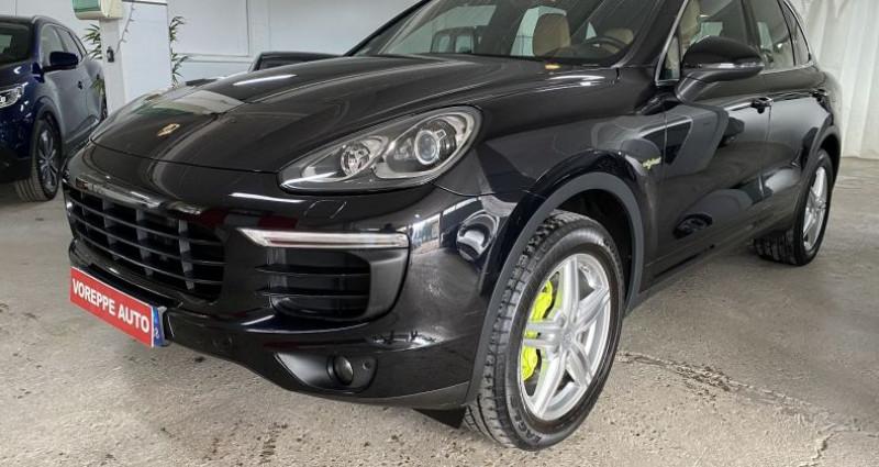 Porsche Cayenne (958) 3.0 416CH S E-HYBRID Noir occasion à VOREPPE