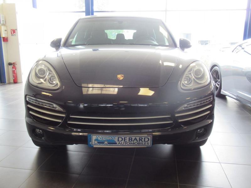Porsche Cayenne (958) DIESEL PLATINUM EDITION Noir occasion à Labège - photo n°4
