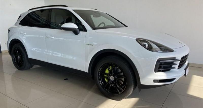 Porsche Cayenne 3.0 462CH E-HYBRID EURO6D-T Blanc occasion à Mommenheim