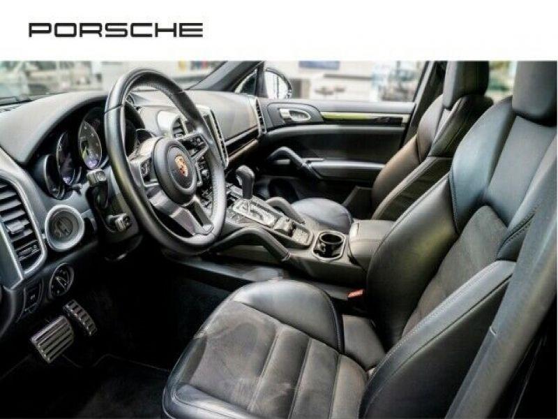Porsche Cayenne 3.0 E-HYBRID 416 PLATINUM Noir occasion à BEAUPUY - photo n°2
