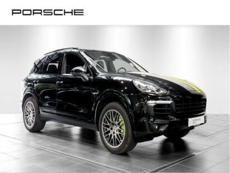 Porsche Cayenne 3.0 E-HYBRID 416 PLATINUM Noir occasion à BEAUPUY