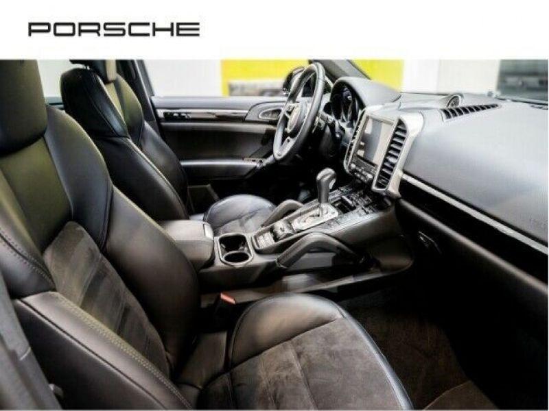 Porsche Cayenne 3.0 E-HYBRID 416 PLATINUM Noir occasion à BEAUPUY - photo n°5