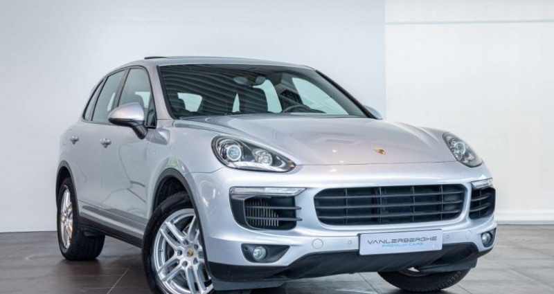 Porsche Cayenne 3.0 TD V6 Tiptronic S Pano Trekhaak Memory Seats Gris occasion à Roeselare