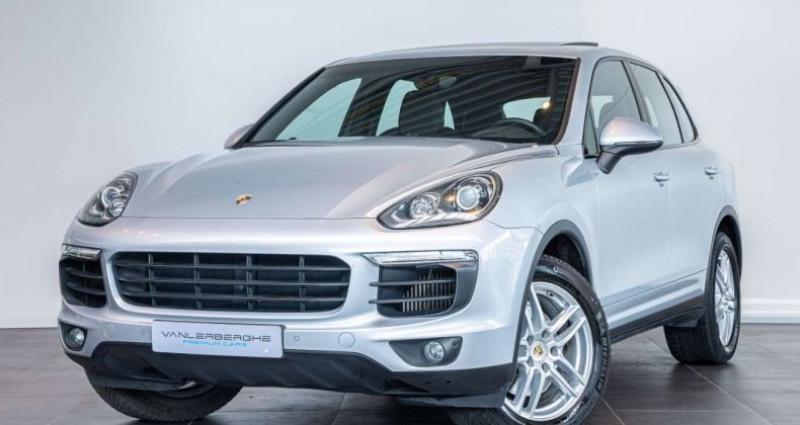 Porsche Cayenne 3.0 TD V6 Tiptronic S Pano Trekhaak Memory Seats Gris occasion à Roeselare - photo n°3