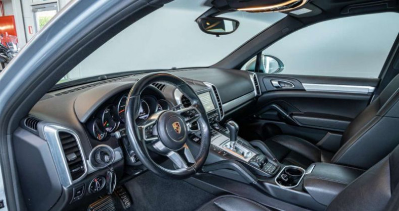 Porsche Cayenne 3.0 TD V6 Tiptronic S Pano Trekhaak Memory Seats Gris occasion à Roeselare - photo n°5