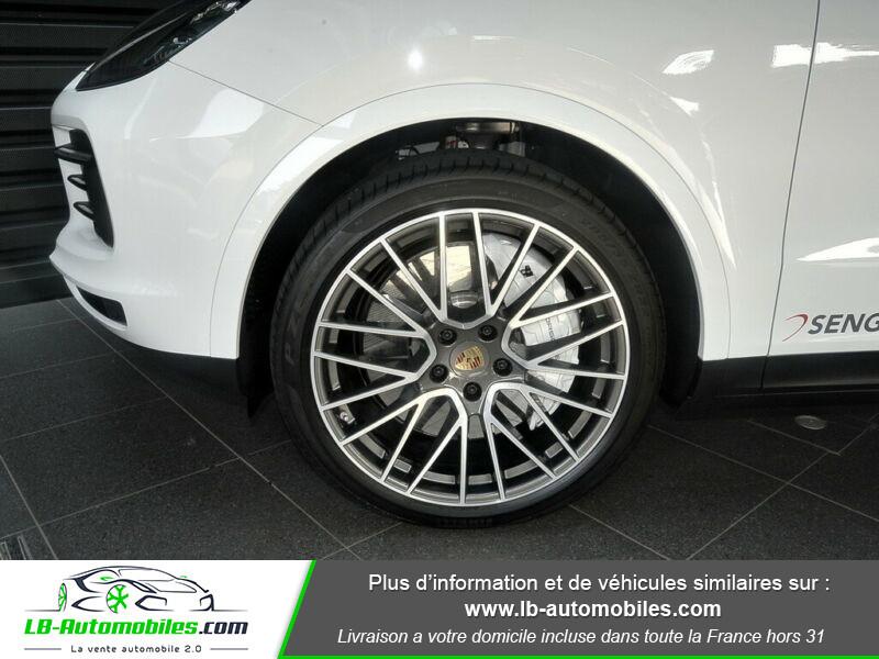 Porsche Cayenne 3.0 V6 340 ch S Tiptronic BVA Blanc occasion à Beaupuy - photo n°9
