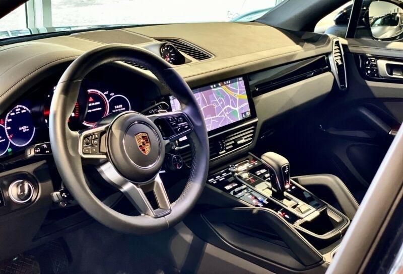 Porsche Cayenne 3.0 V6 340CH Noir occasion à Villenave-d'Ornon - photo n°5
