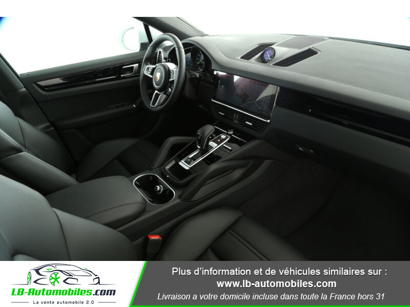 Porsche Cayenne 3.0 V6 462 ch Tiptronic BVA / E-Hybrid Blanc occasion à Beaupuy - photo n°16