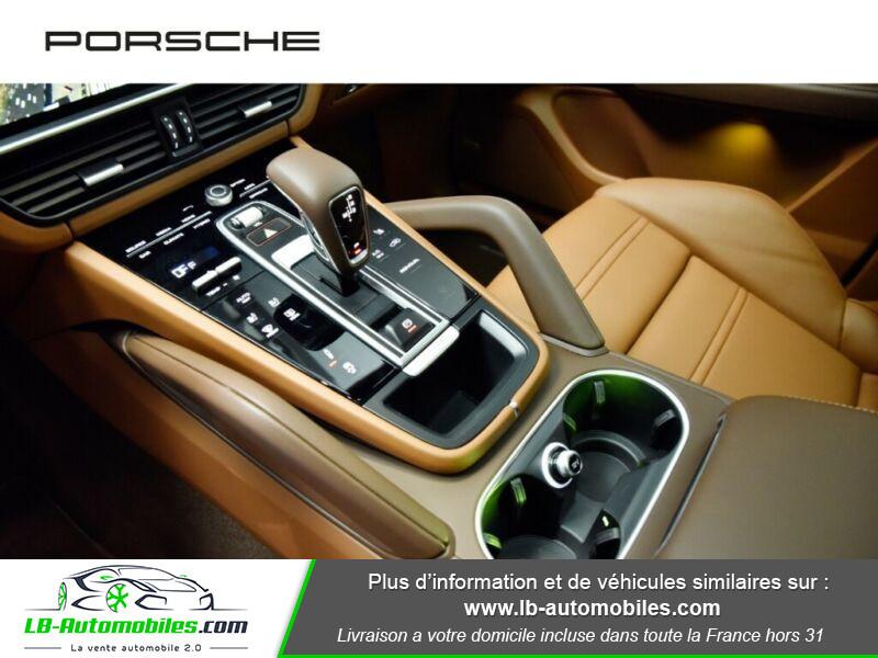 Porsche Cayenne 3.0 V6 462 ch Tiptronic BVA / E-Hybrid Marron occasion à Beaupuy - photo n°4