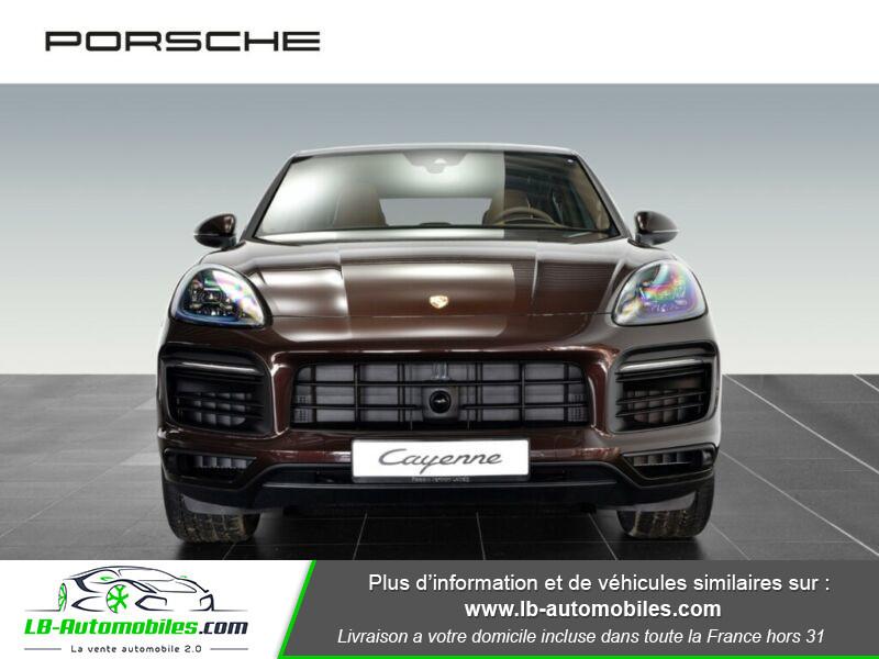 Porsche Cayenne 3.0 V6 462 ch Tiptronic BVA / E-Hybrid Marron occasion à Beaupuy - photo n°10