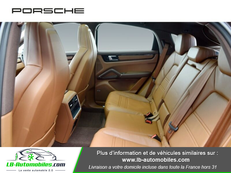 Porsche Cayenne 3.0 V6 462 ch Tiptronic BVA / E-Hybrid Marron occasion à Beaupuy - photo n°18