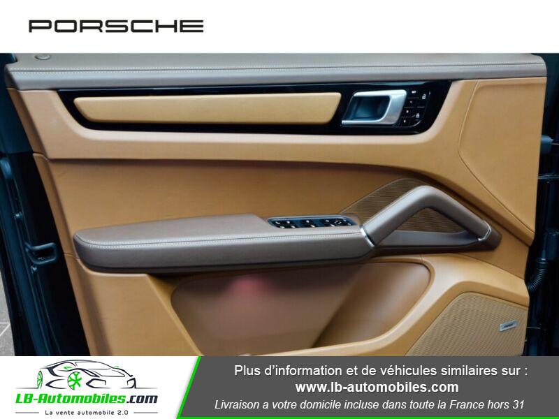 Porsche Cayenne 3.0 V6 462 ch Tiptronic BVA / E-Hybrid Marron occasion à Beaupuy - photo n°12