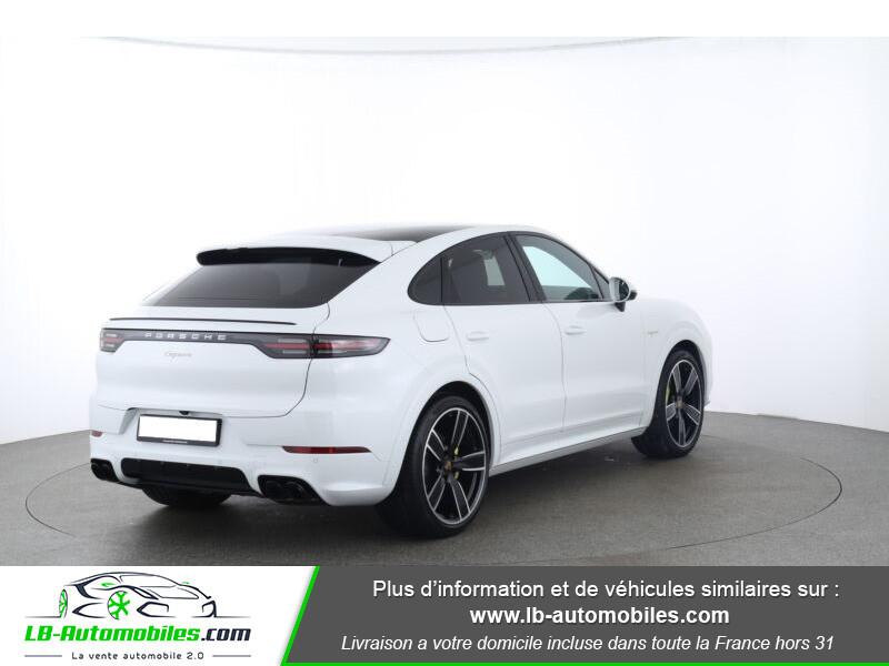 Porsche Cayenne 3.0 V6 462 ch Tiptronic BVA / E-Hybrid Blanc occasion à Beaupuy - photo n°3