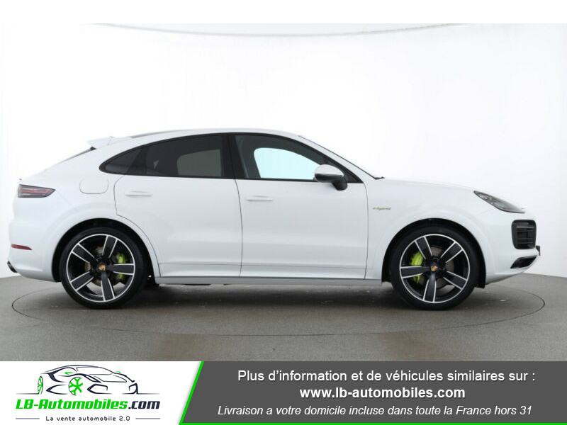 Porsche Cayenne 3.0 V6 462 ch Tiptronic BVA / E-Hybrid Blanc occasion à Beaupuy - photo n°7