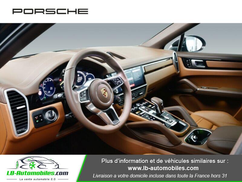 Porsche Cayenne 3.0 V6 462 ch Tiptronic BVA / E-Hybrid Marron occasion à Beaupuy - photo n°17