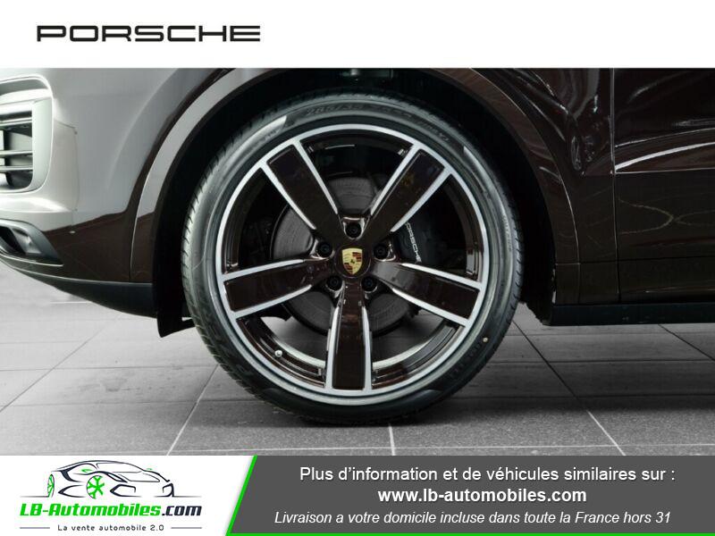 Porsche Cayenne 3.0 V6 462 ch Tiptronic BVA / E-Hybrid Marron occasion à Beaupuy - photo n°6