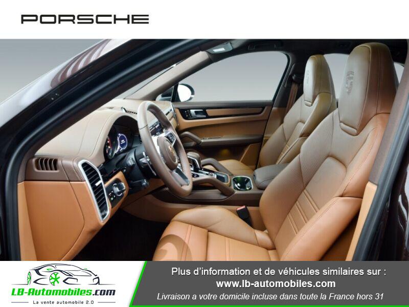 Porsche Cayenne 3.0 V6 462 ch Tiptronic BVA / E-Hybrid Marron occasion à Beaupuy - photo n°19