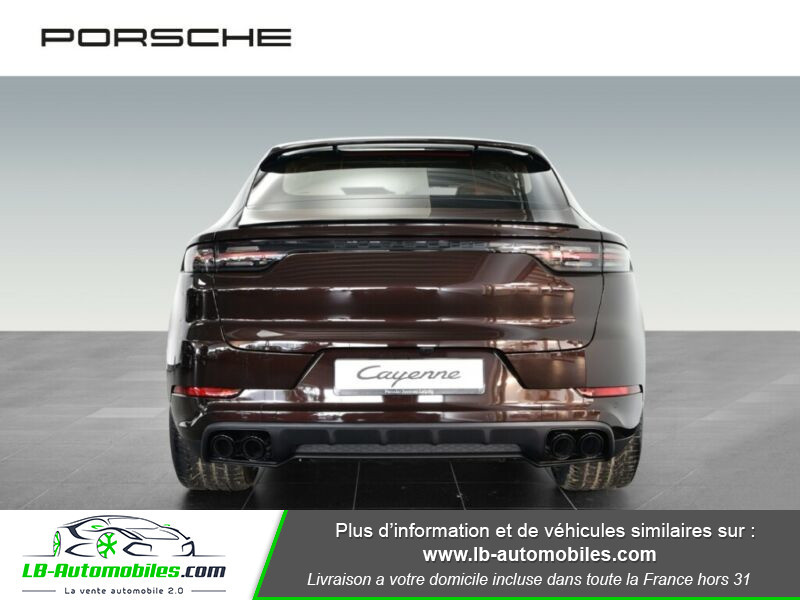 Porsche Cayenne 3.0 V6 462 ch Tiptronic BVA / E-Hybrid Marron occasion à Beaupuy - photo n°9
